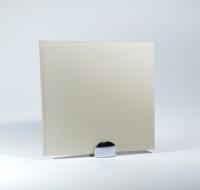Стекло лакобель жемчужный белый RAL1013 Lakobel