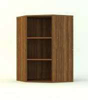 Шкаф угловой, 1 фасад, 2 полки
