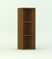 Шкаф скошенный, 2 вкл. полки
